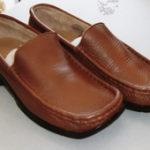 靴の修理 色あせた靴を色染めしてキレイにお直し