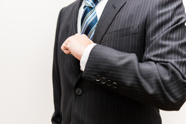 ジャケット袖丈詰め まとめ 機械切羽出来ます。